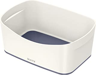Leitz Bac de Rangement MyBox, Waterproof, Blanc,, Taille S