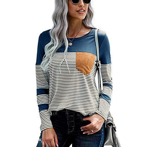 iMixCity Mujer Camisas De Hombro Frío Blusas Tops del Batwing Camisetas Mangas Larga Casual Camiseta (M, A# Negro (Manga Larga))