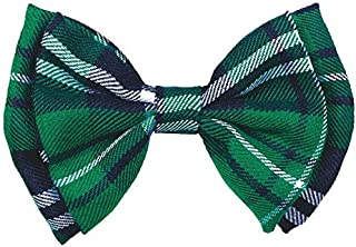"""Amscan St. Patrick's Day Plaid Bow Tie party-supplies, 3 1/2"""" x 5"""", Green"""