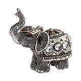 Unbekannt Baby-Schmuck-Elefant, Figur Statue Hingucker Baby-Elefant Glitzer-Steinchen Deko Dekoration Schmuck Wohnzimmer Schlafzimmer