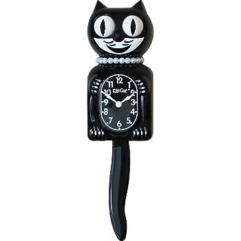Classic Black Lady Kit-Cat Klock