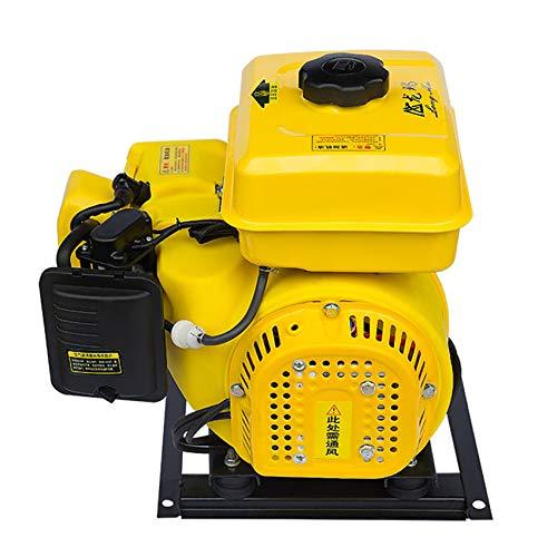 isunking Generador de Gasolina de Vehículo Eléctrico de 5KW, Generador de Triciclo Eléctrico de Conversión de Frecuencia Automática de Arranque Eléctrico Extensor de Rango (72V)