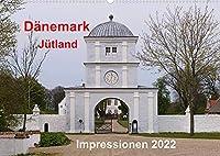 Daenemark Juetland Impressionen 2022 (Wandkalender 2022 DIN A2 quer): Juetland bietet seinen Besuchern endlose Straende, gemuetliche Staedtchen sowie historische Staetten. (Monatskalender, 14 Seiten )