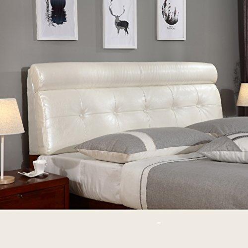 uus Coussin de tête de lit populaire moderne Protecteur de perruque Doux et confortable Tissu Linge de lit Sac souple Coussin de lit grand oreiller lavable 60 * 155cm ( Couleur : A )