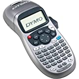 DYMO Label Maker, LetraTag 100H Silver Handheld Label Maker & LT Label Tapes, Easy-to-Use, Great for Home & Office Organization