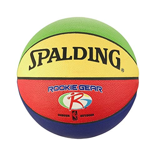 Spalding NBA Rookie Gear out 83-419Z Balón de Baloncesto, Unisex niños, Multicolor, 5