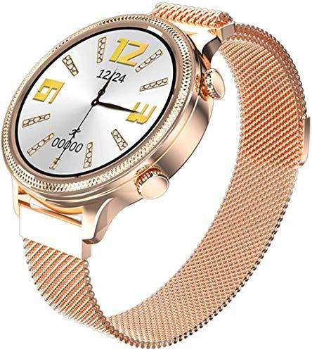 Reloj inteligente pulsera de 1.1 pulgadas HD Full Touch Menstrual Período Fitness Watch IP67 impermeable reloj inteligente deportivo para señoras (color: A)-A