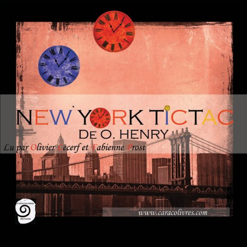 New York Tic Tac [French Version] audiobook cover art