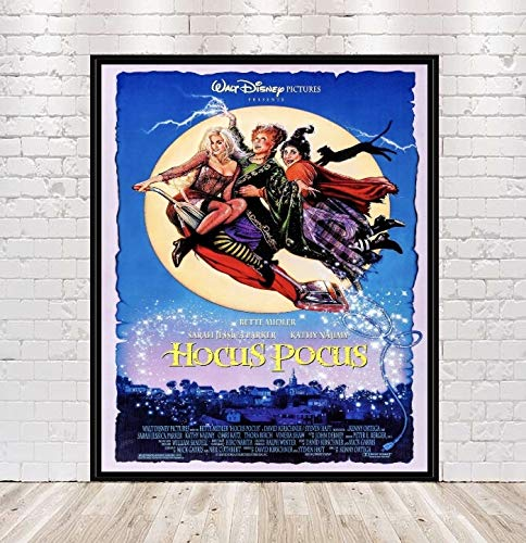 Hocus Pocus Poster Vintage Walt Disney Movie Poster Magic Kingdom Disney World Disneyland Attraction Posters Home Decor Wall Art