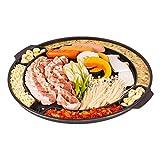 CookKing Master Grill Pan, Korean Traditional BBQ Grill Panstovetop Nonstick Indoor/Outdoor Smokeless BBQ