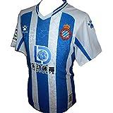 Kelme Espanyol RCD - Camiseta de fútbol para hombre (2020-201)