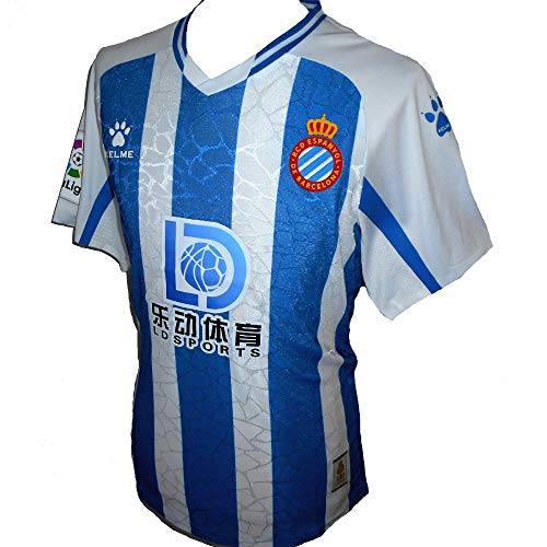 Kelme Espanyol RCD - Camiseta de fútbol para hombre 2020-201 (M)