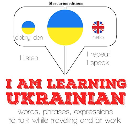 I am learning Ukrainian audiobook cover art