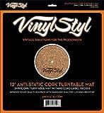 Vinyl STYL 12' Anti-Static Cork Turntable Mat