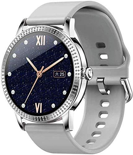 Reloj inteligente para mujer Ip67 impermeable reloj de pulsera casual con monitor de ritmo cardíaco para Android4.4 Ios8.0 o superior desgaste diario A-E