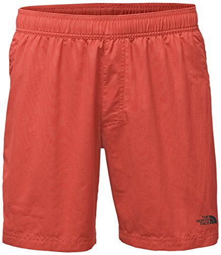 The North Face Men's Class V Pull-On Trunk, Sunbaked Red, Small Regular (Past Season)