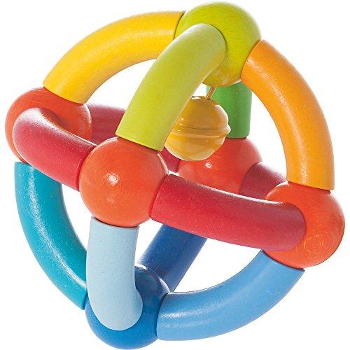 Haba Hochet « balle à clochette » jouet à saisir, multicolore