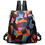 Purple Crane Fashionable & Trendy Small Waterproof Anti Theft Backpack/Shoulder Bag/Handbag/Purse for Women/Girls