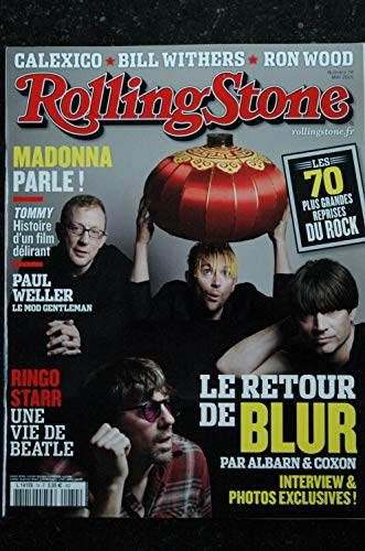 ROLLING STONE L 14199 74 Cover BLUR Madonna Calexico Bill Withers Ron Wood Ringo Starr - 2015 05