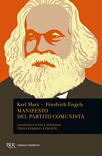 Manifesto del Partito Comunista. Testo tedesco a fronte