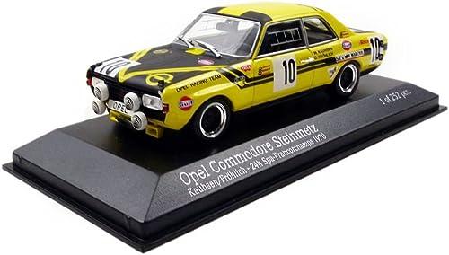 promociones Minichamps 400704600 Vehículo Vehículo Vehículo en Miniatura Opel Commodore 24H de SPA de 1970 Escala 1 43, amarillo negro  precios mas baratos