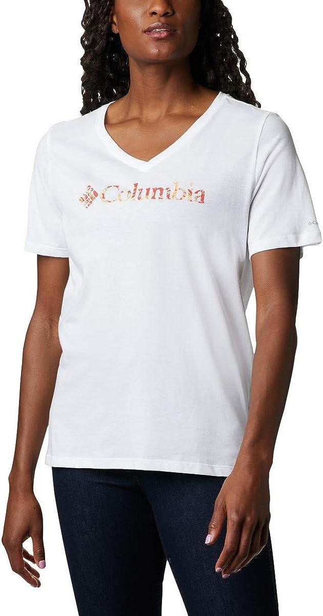 Columbia Women's Mount Rose Relaxed Tee Shirt, Jersey Cotton Blend