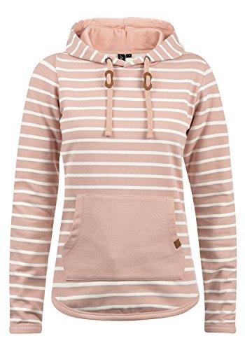 BlendShe Carina Damen Hoodie Kapuzenpullover Pullover Mit Kapuze, Größe:M, Farbe:Misty Rose (20205)