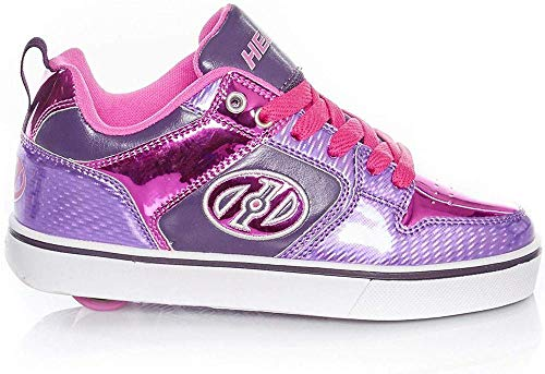 Heelys Unisex-Kinder Motion Plus (he100384) Skateboardschuhe, Mehrfarbig (Purple/Pink Shimmer/Grape 000), 34 EU