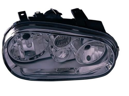 OE Replacement Volkswagen Golf/GTI/GTA Passenger Side Headlight Assembly Composite (Partslink Number…