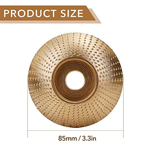 Best Buy! Xucus New Tungsten Carbide Grinding Wheel 4 Sizes Available Woodworking Wood Angle Grindin...