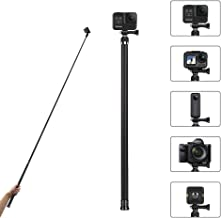 "AFAITH 106"" Long Carbon Fiber Handheld GoPro Selfie Stick Extendable Pole Monopod for GoPro Hero8 Hero7 Hero 6 Hero 5 Black, DJI OSMO Action Camera, Insta 360 Cam & Other Action Cameras"