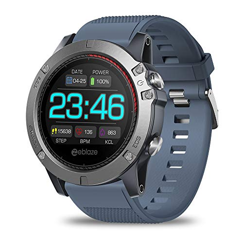 smartwatch zeblaze vibe 3 ecg SUQIAOQIAO Frequenza Cardiaca Zeblaze Vibe 3 dello Schermo A Colori del Braccialetto di ECG Intelligente Orologio di Monitoraggio all-Day Activity Tracking