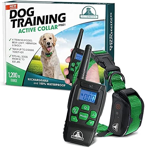 wholesale Pet Union PT0Z1 Premium Dog Training Shock outlet online sale Collar, Fully Waterproof, 1200ft discount Range outlet sale