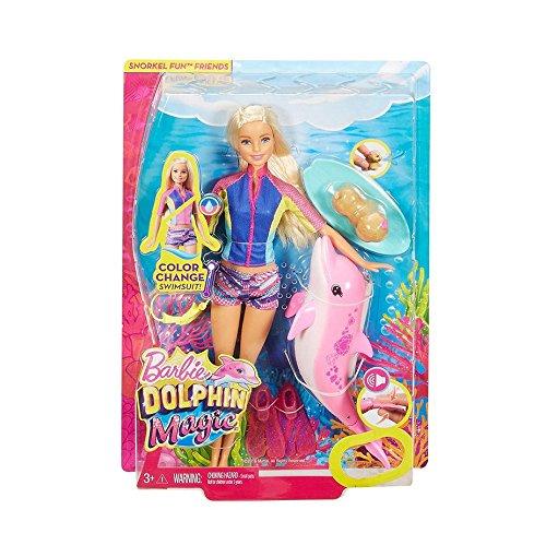バービー 人形 ドルフィン マジック シュノーケリング ファン フレンズ プレイセット ドール いるか 衣装 カラーチェンジ Barbie Dolphin Magic Snorkel Fun Friends Playset [並行輸入品]