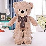 stogiit Große Fliege Umarmung Bär Plüschtier Teddybär Puppe Online-Shop Mädchen Geburtstagsgeschenk Farbe 140 cm