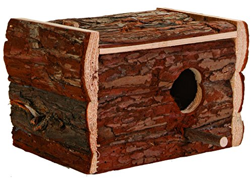 Trixie 5632 Natural Living Nistkasten, 21 × 13 × 12 cm/ø 3,8 cm
