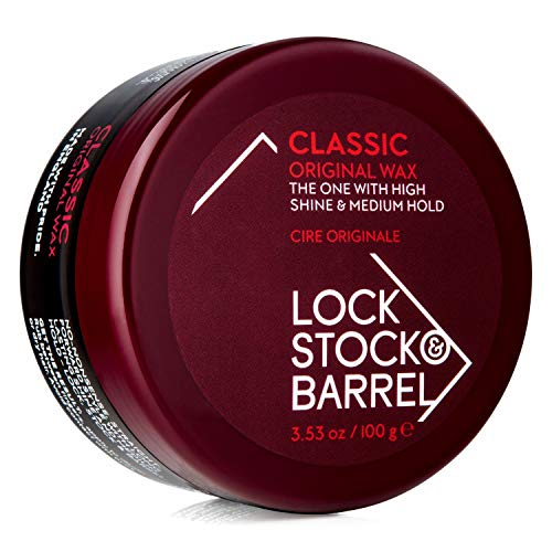 Lock Stock & Barrel Classic Original Wax For Men 100 g