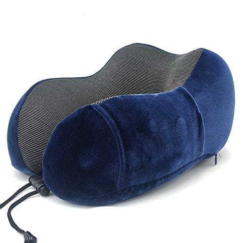 donfhfey827 Das Reise-Nackenkissen, das ergonomische Nackenkissen aus Schlaf-Memory-Schaum und die Beste Memory-Schaum-Technologie bieten den besten Komfort, Reisen, Büro und Schlaf