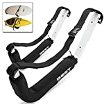 Best Marine Kayak Storage Racks. Premium Wall Mount Accessories for Kayaks and SUP Paddle Boards. Two Indoor/Outdoor… 8 HOW ARE WE DIFFERENT? - Our storage racks are made from heavy duty powder coated steel with nylon covered foam padding. They're lightweight, strong, require no assembly, are easy to install and they're affordable! WHY BEST MARINE AND OUTDOORS? - Our company goal and mission is to help people find inner peace and purpose through kayaking. When you're paddling trip is over, know that your prized possession is safe and secure waiting for your next trip on the water WHO ARE OUR STORAGE RACKS FOR? - Our wall hangers are for people looking for a simple, strong solution to protecting and storing their kayaks. Our racks can easily be installed in your garage, shed, under your deck or on your dock or pier