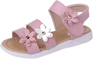 Sponsored Ad - Vokamara Big Girls Fashion Bow Sandals Summer Shoes