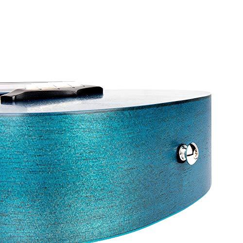 EnyaコンサートウクレレEUC-25DBUマホガニー単板ウクレレ初心者セット23インチウクレレ収納バッグ,チューナー,ストラップ,スペア弦等付属品一式