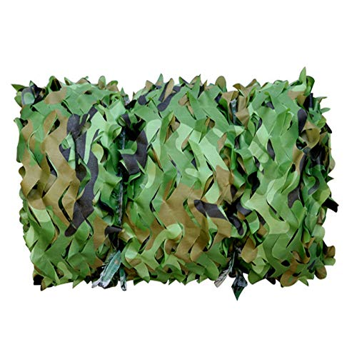 GXING Camo Netting, Army Woodland Camouflage Netting, Lightweight Durable, For Hunting Military Theme Shooting Decoration Sunshade Camping And Building Shelters