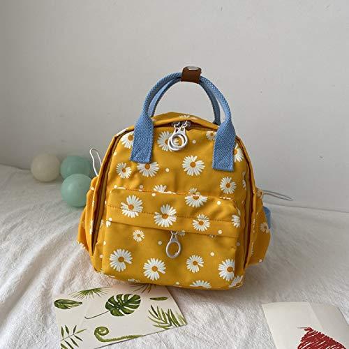 REBKW Oxford - Mochila escolar para mujer, color contrastante, mochila para hombre, mochila para ordenador portátil, bolsa de hombro, bolsa escolar para niños y niñas (3)