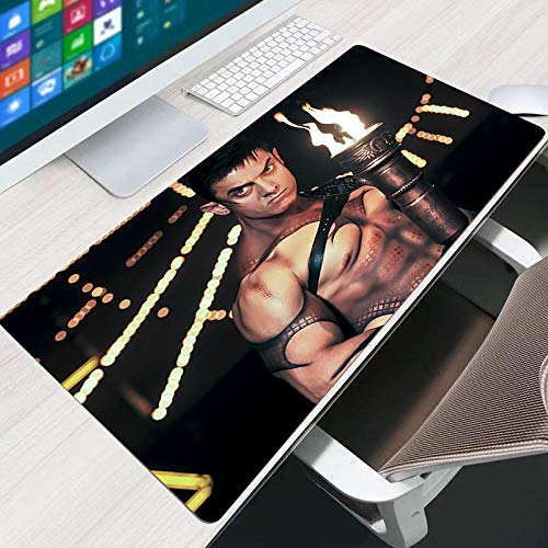 JIACHOZI Gaming Mouse Pads India Actor Amir Torch 900×400×3mm Extended Mouse Pad Large Gaming Mouse Pad-Computer Keyboard Mouse Mat Non-Slip Mousepad Rubber Base and Stitched Edges