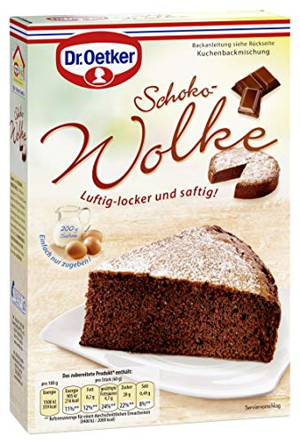 Dr. Oetker Schoko-Wolke (1 x 455 g)