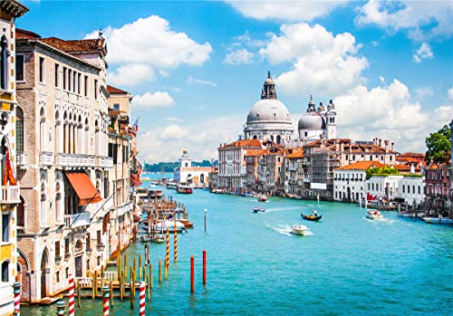 Jigsaw Puzzles for Adults 500 Piece Great View Puzzle Grand Canal Venice Italy Games Toys and Gifts for Kids Family Partners