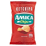 Amica Chips Patatine Fritte Gusto Ketchup, 100g