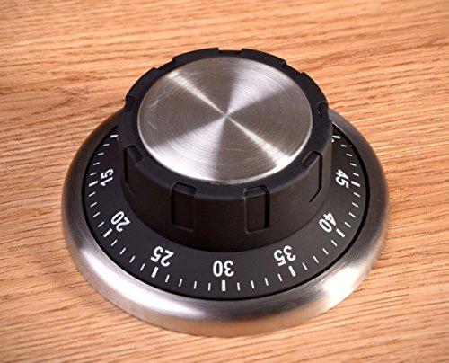 Magnetischer Küchenwecker als Tresor-Schloss - Kurzzeitmesser im Safe-Look