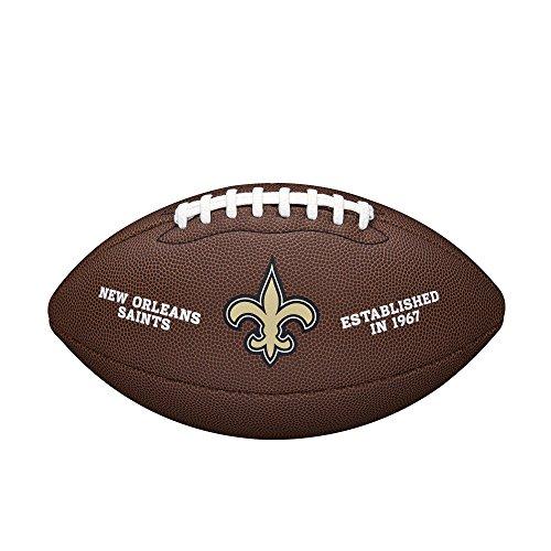 Wilson NFL Team Logo Composite Fußball, New Orleans Saints, Official
