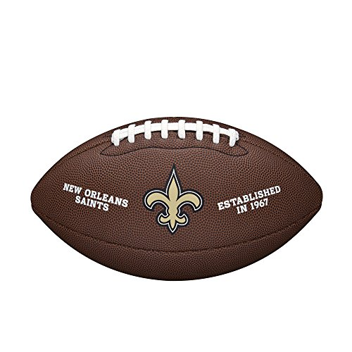 WILSON NFL Team Logo Composite Fußball, New Orleans Saints, Official